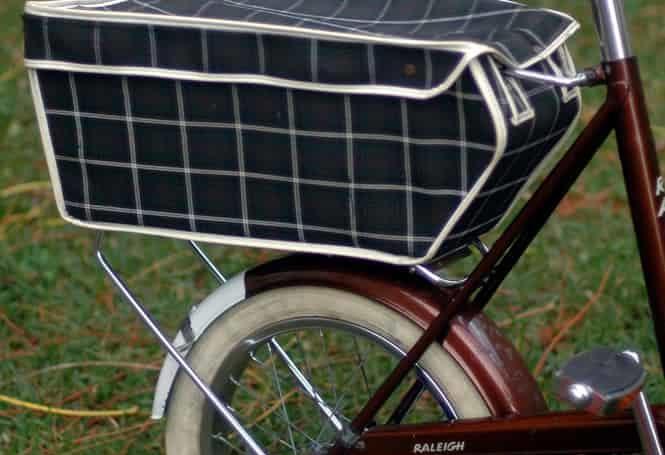 biciklis táska csomagtartóra