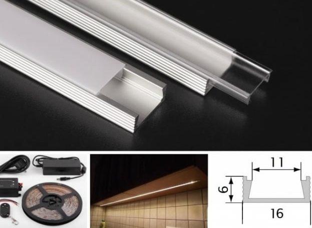 konyhai LED világítás